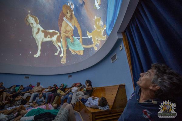 Interior del Planetarium