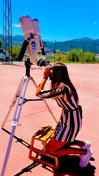 Observando la fotosfera solar