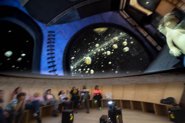 Película de Planetario en Serón