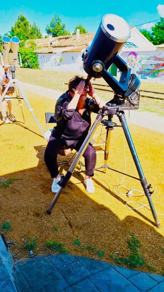 Observando la cromosfera solar