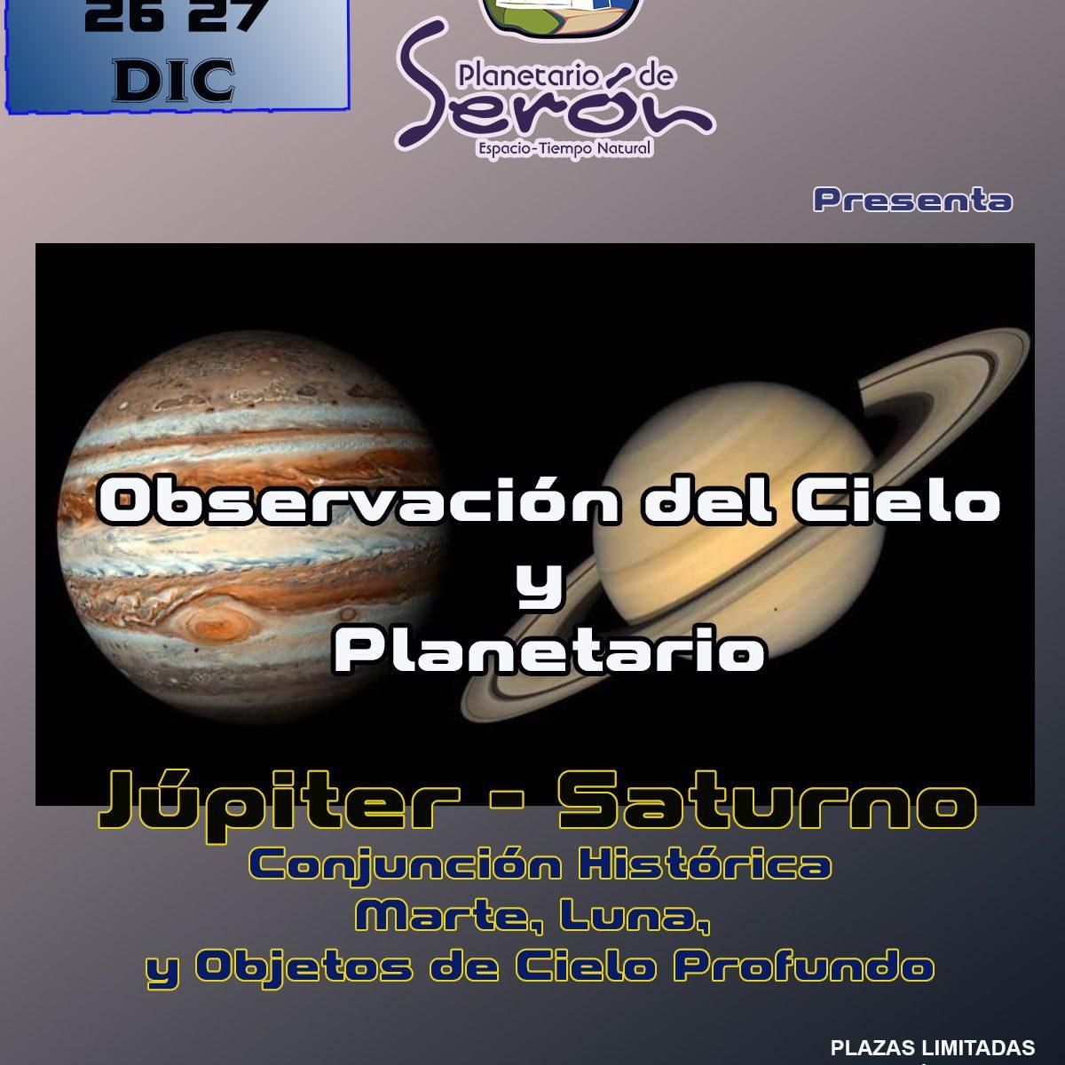 Observación del Cielo y Planetario