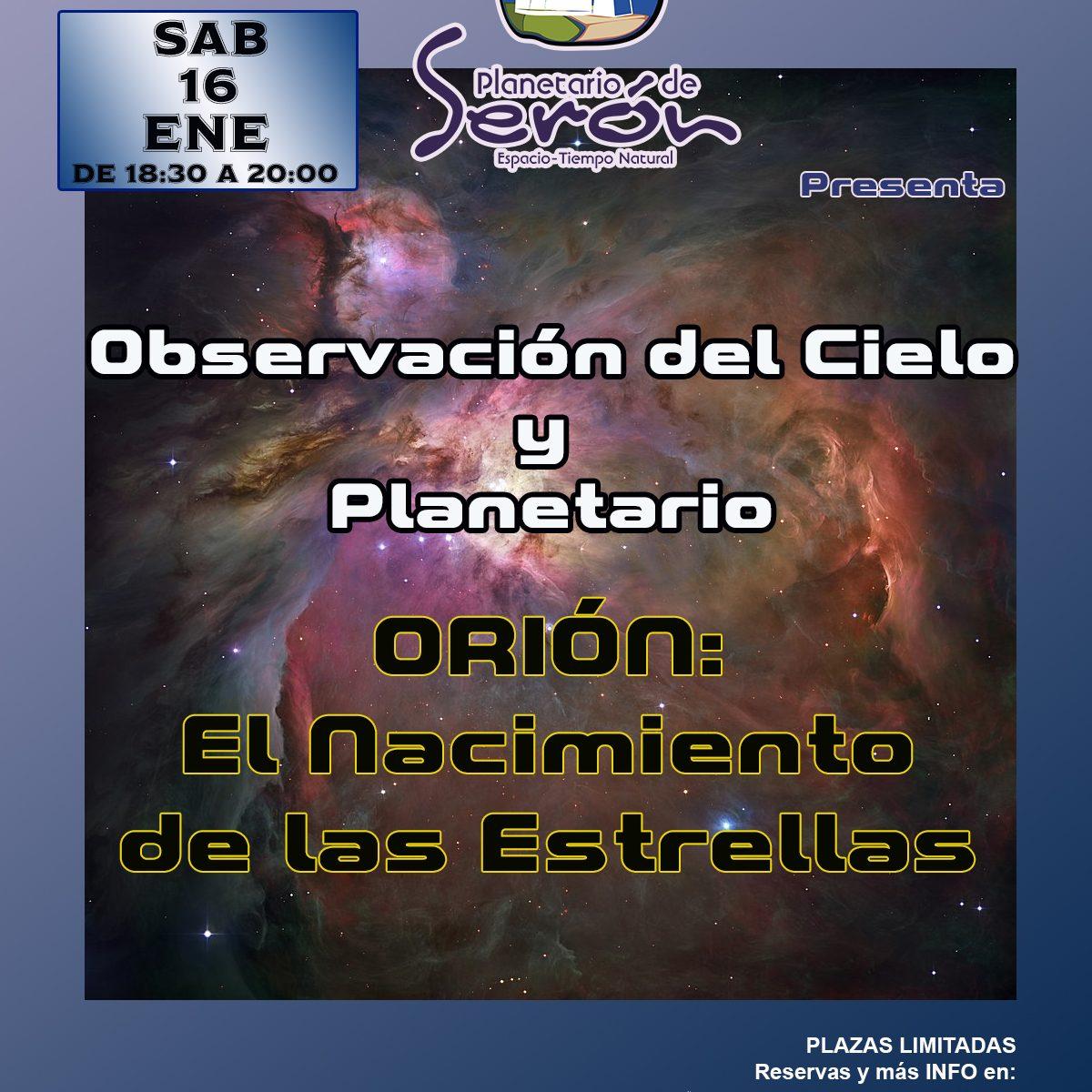 Observación del Cielo Observatorio de Serón
