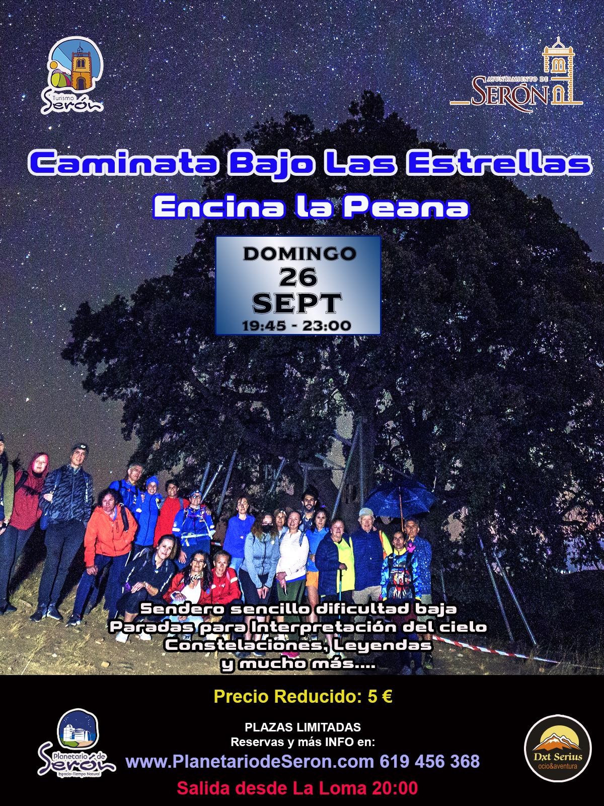 estrellas Encina Peana