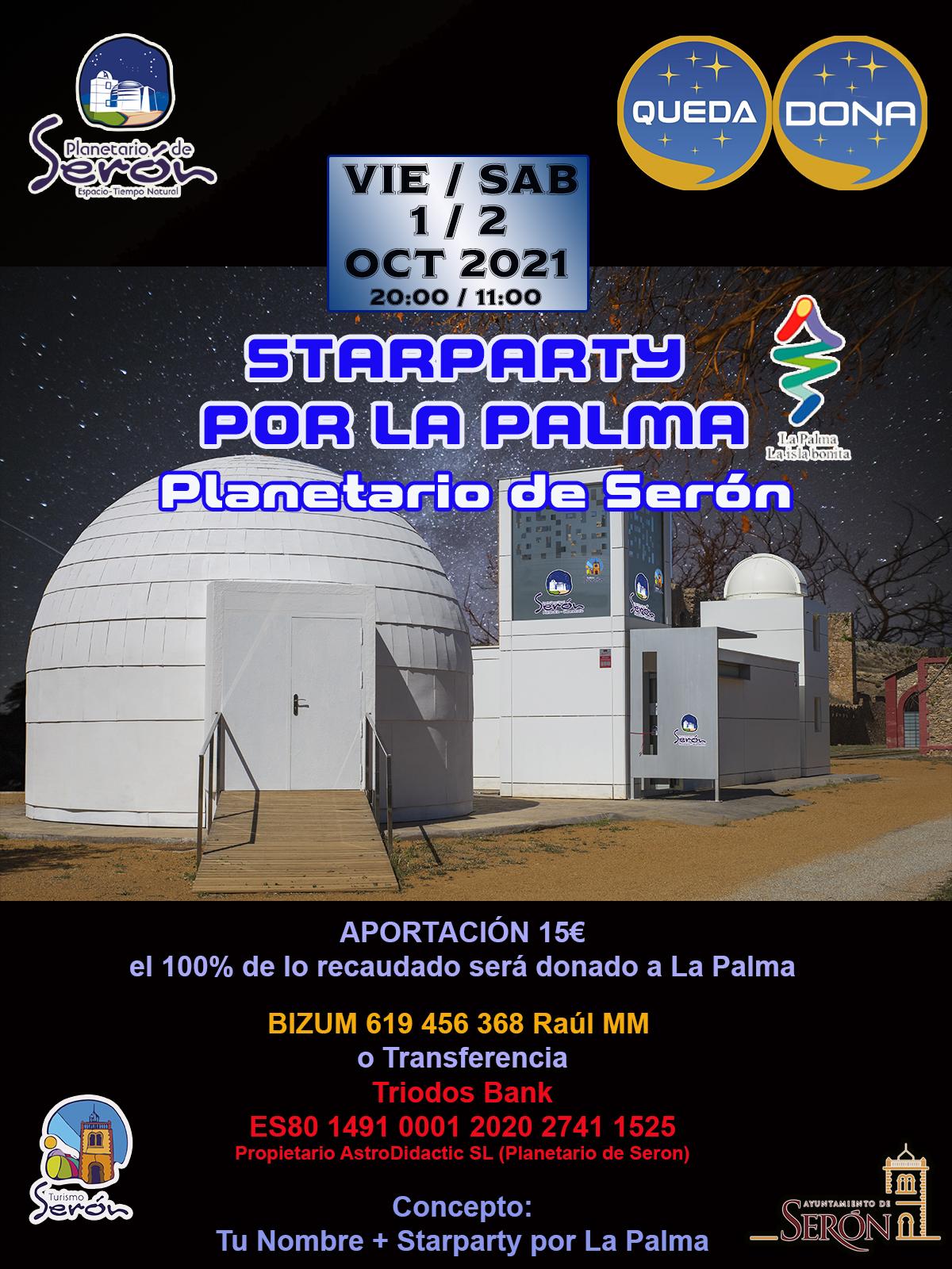 QuedaDona StarParty x La Palma