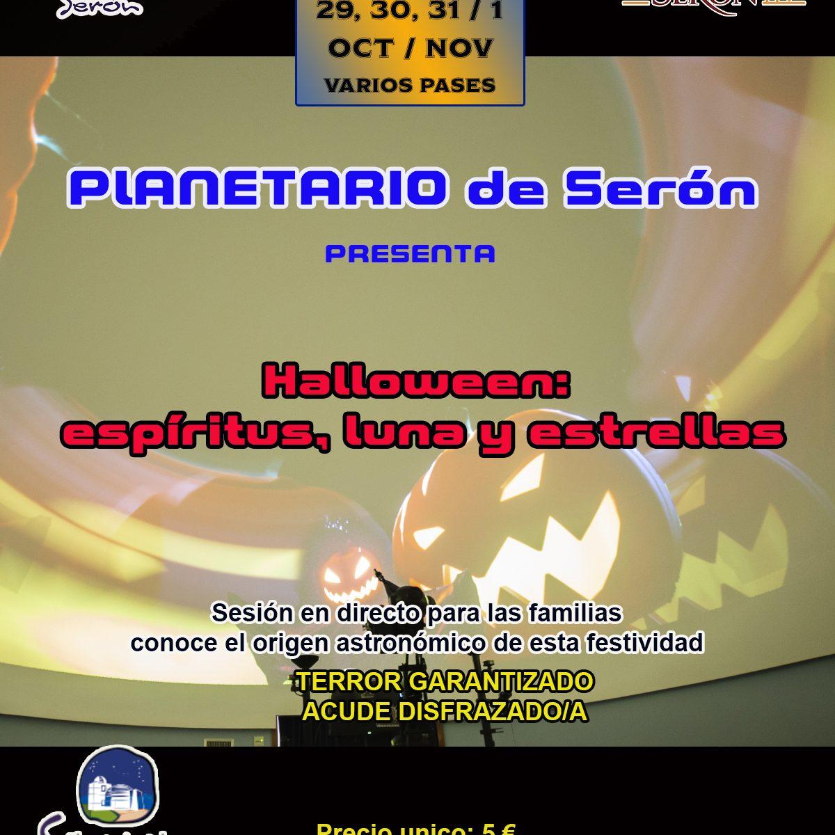 Planetario Halloween